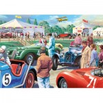 Puzzle  Jumbo-11164 XXL Teile - Legends of The Track