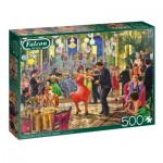 Puzzle  Jumbo-11291 Dancing the Night Away