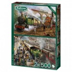 Puzzle   Mail by Rail (2x500 Teile)