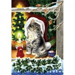 Puzzle   A Christmas Kitten