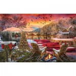 Puzzle   Christmas Eve Camping