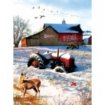Puzzle   Greg Giordano - Tractor on the Farm