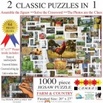Irv Brechner - Puzzle Combo: Farm & Country