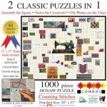 Sunsout-10176 Irv Brechner - Puzzle Combo: Counting Stitches