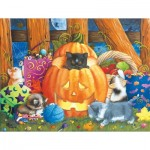 Puzzle  Sunsout-12544 XXL Teile - Surprise Halloween