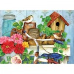 Puzzle  Sunsout-16097 XXL Teile - Jane Maday - The Old Garden Shed