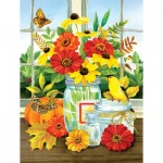 Puzzle  Sunsout-16099 XXL Teile - Jane Maday - Autumn Jars