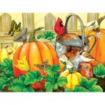 Puzzle  Sunsout-16115 XXL Teile - October Garden