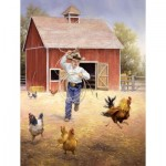 Puzzle  Sunsout-16887 XXL Teile - Fowl Play