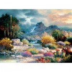 Puzzle  Sunsout-18085 James Lee - Springtime Valley