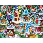 Puzzle  Sunsout-18144 Randy Wollenmann - Snow Globe Collectiona