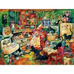 Puzzle  Sunsout-21898 XXL Teile - Witchin' Kitchen