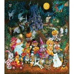 Puzzle  Sunsout-21899 XXL Teile - Trick or Treat Dogs
