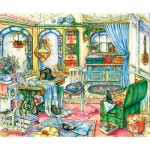 Puzzle  Sunsout-23419 Kim Jacobs - My Sewing Room