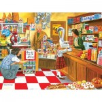 Puzzle  Sunsout-26608 XXL Teile - Open All Hours