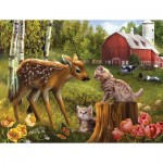 Puzzle  Sunsout-28618 XXL Teile - Want to be Friends