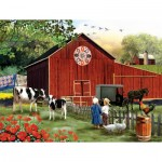 Puzzle  Sunsout-28648 XXL Teile - Country Serenity