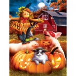 Puzzle  Sunsout-28737 XXL Teile - Happy Halloween