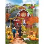Puzzle  Sunsout-28755 XXL Teile - Valley Farm