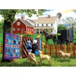 Puzzle  Sunsout-28769 XXL Teile - Family Homestead