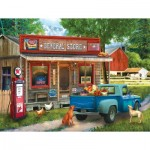 Puzzle  Sunsout-28820 XXL Teile - Morning Stop