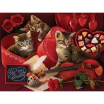 Puzzle  Sunsout-28860 Tom Wood - Be My Valentine
