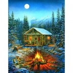 Puzzle  Sunsout-29032 XXL Teile - Sam Timm - A Cozy Holiday