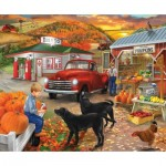 Puzzle  Sunsout-31507 Roadside Stand