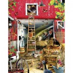 Puzzle  Sunsout-34898 XXL Teile - Lori Schory - Moving Day