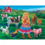 Puzzle  Sunsout-35961 XXL Teile - Tricia Reilly-Matthews - Fun on the Farm