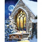 Puzzle  Sunsout-37346 XXL Teile - The Macneil Studio - Christmas Manger
