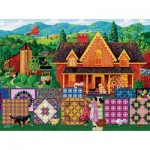 Puzzle  Sunsout-38844 Joseph Burgess - Morning Day Quilt