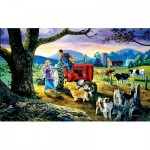 Puzzle  Sunsout-38877 XXL Teile - The Yellow Ribbon