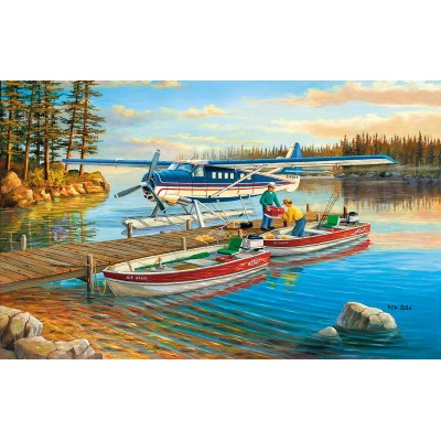 Puzzle Sunsout-39321 Ken Zylla - Pickle Lake