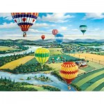 Puzzle  Sunsout-39374 XXL Teile - Ballooner's Rally