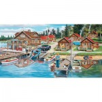 Puzzle  Sunsout-39610 XXL Teile - Timber Lodge