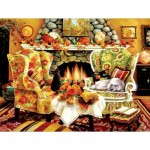Puzzle  Sunsout-45419 XXL Teile - Autumn Warmth