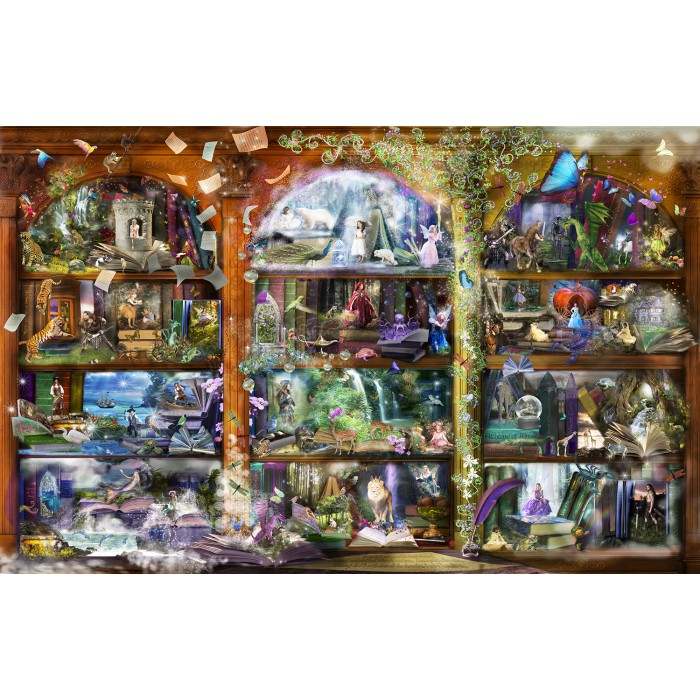 Alixandra Mullins - Enchanted Fairytale Library