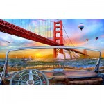 Puzzle  Sunsout-50069 Dominic Davison - Golden Gate Adventure