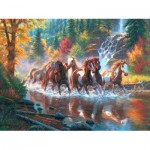 Puzzle  Sunsout-52916 Mark Keathley - Born To Run