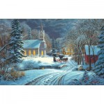 Puzzle  Sunsout-53039 Mark Keathley - Heavenly Light