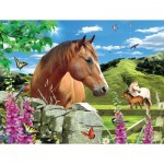 Puzzle  Sunsout-54926 XXL Teile - Summer Meadow