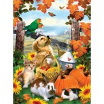 Puzzle  Sunsout-54946 Howard Robinson - Autumn Harvest