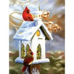 Puzzle  Sunsout-54990 XXL Teile - The Church