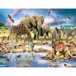 Puzzle  Sunsout-59398 Howard Robinson - Cradle of Life