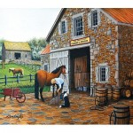 Puzzle  Sunsout-60340 XXL Teile - Coppery and Stables