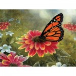 Puzzle  Sunsout-67362 XXL Teile - Monarch Butterfly