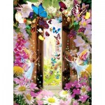 Puzzle  Sunsout-68010 Garry Walton - Fairy Door