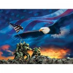 Puzzle  Sunsout-69038 XXL Teile - Grand Old Flag