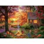 Puzzle  Sunsout-69676 XXL Teile - Abraham Hunter - Sunset Serenity